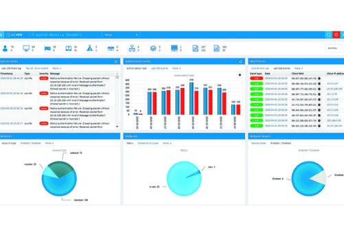Pełna kontrola i widoczność sieci w systemie NACVIEW