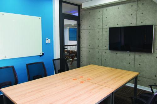 Coraz mniejsze meeting roomy