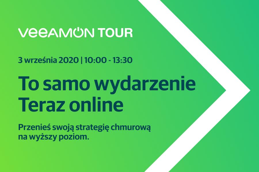 VeeamON Tour 2020: solidna dawka wiedzy bezpłatnie i online