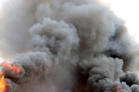 Pożar w laboratorium Huawei