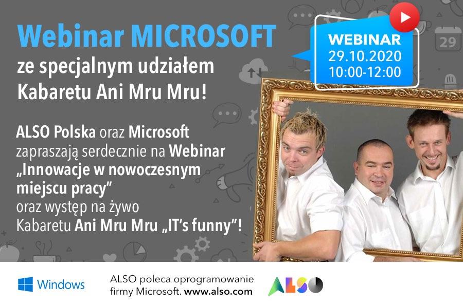 ALSO Polska, Microsoft i Kabaret Ani Mru Mru
