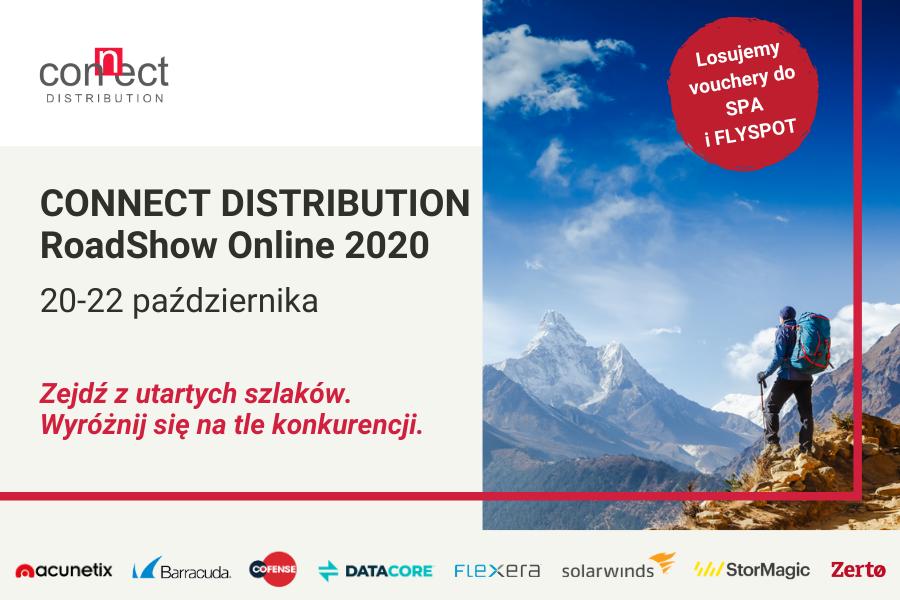 """""""Zejdź z utartych szlaków"""": partnerski roadshow Connect Distribution"""