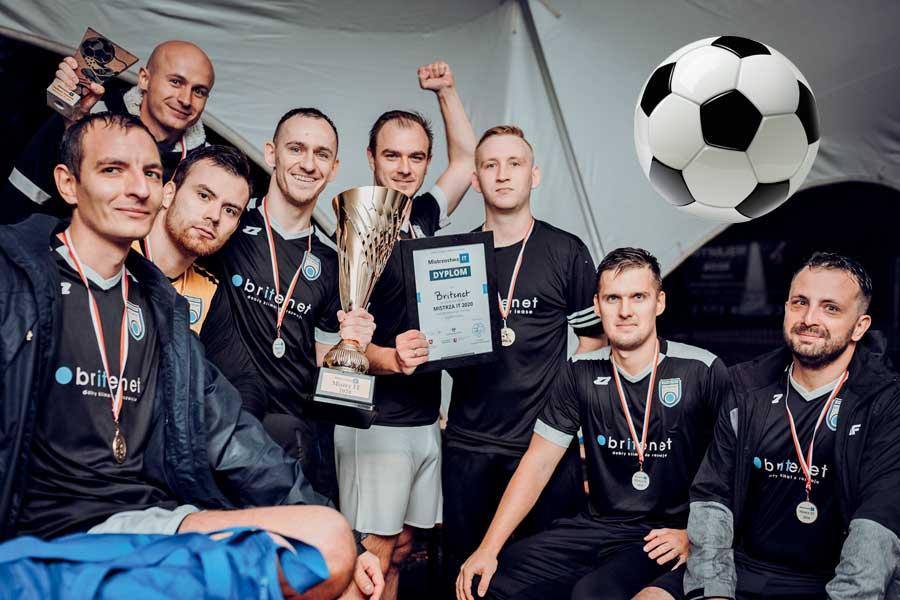 Britenet futbolowym mistrzem Polski branży IT!