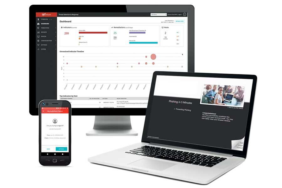 WatchGuard AuthPoint MFA wielopoziomowa ochrona danych