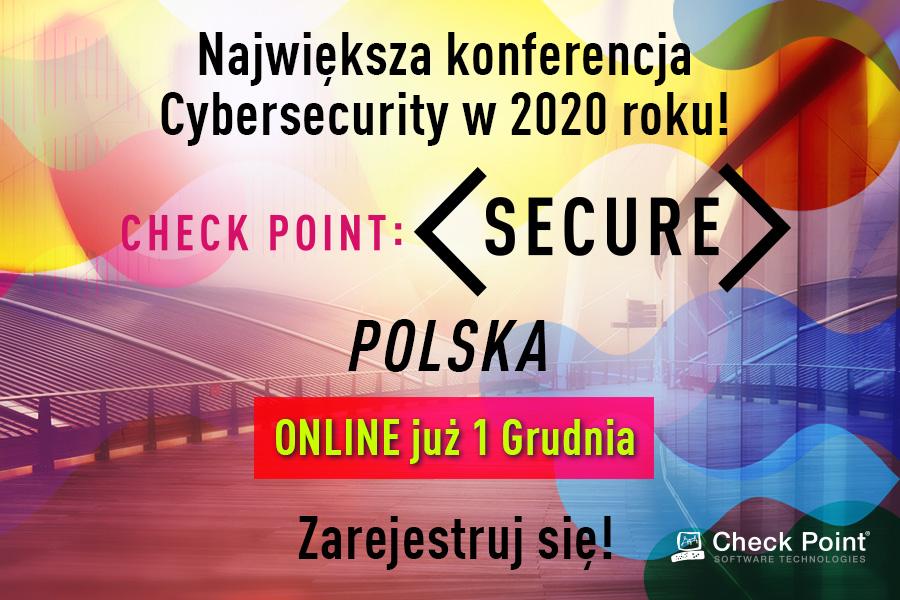 Check Point SECURE 2020: po raz pierwszy online