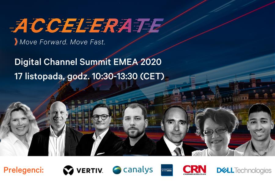 Vertiv dla partnerów: Digital Channel Summit EMEA 2020