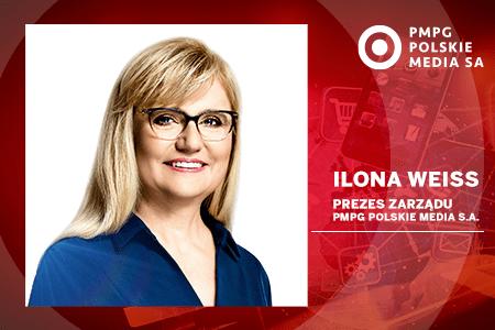 Ilona Weiss prezesem PMPG Polskie Media