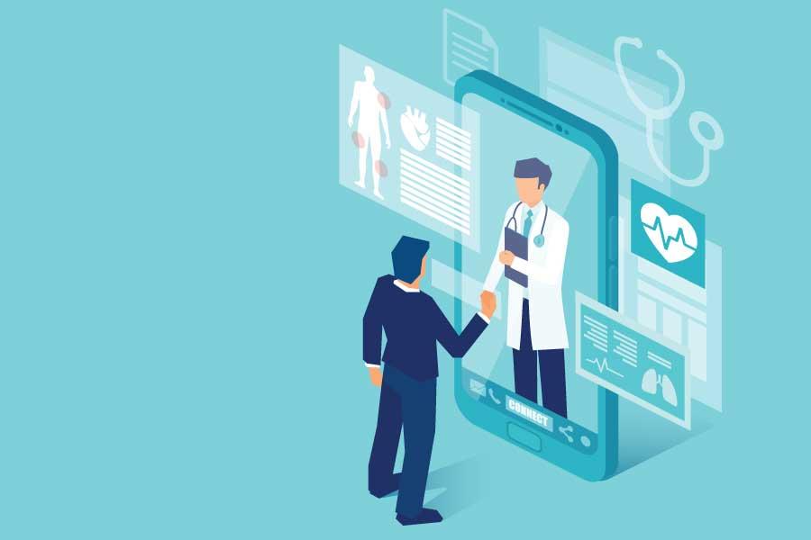 Telemedycyna: rozkwit w czasach zarazy