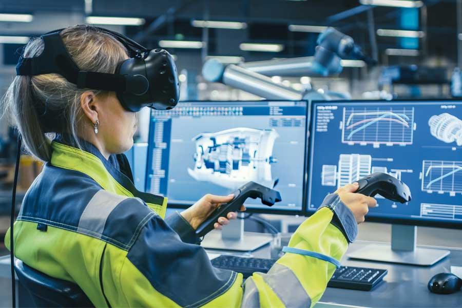 Rzecz o cobotach, IoT, VR i cyfrowym bliźniaku