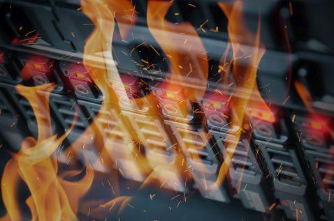 Pożar w centrum danych OVHcloud