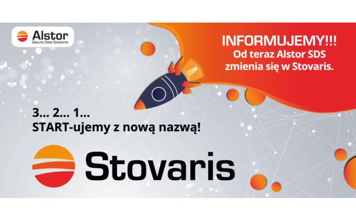Alstor SDS zmienił nazwę na Stovaris