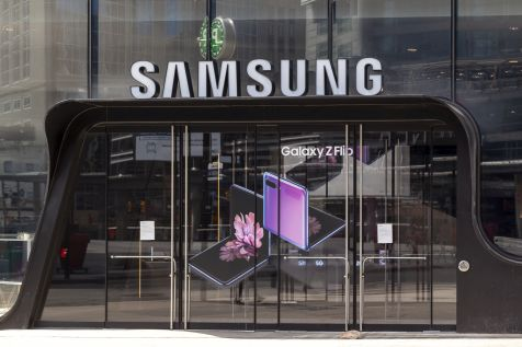 Samsung poprawił zysk o 44 proc.
