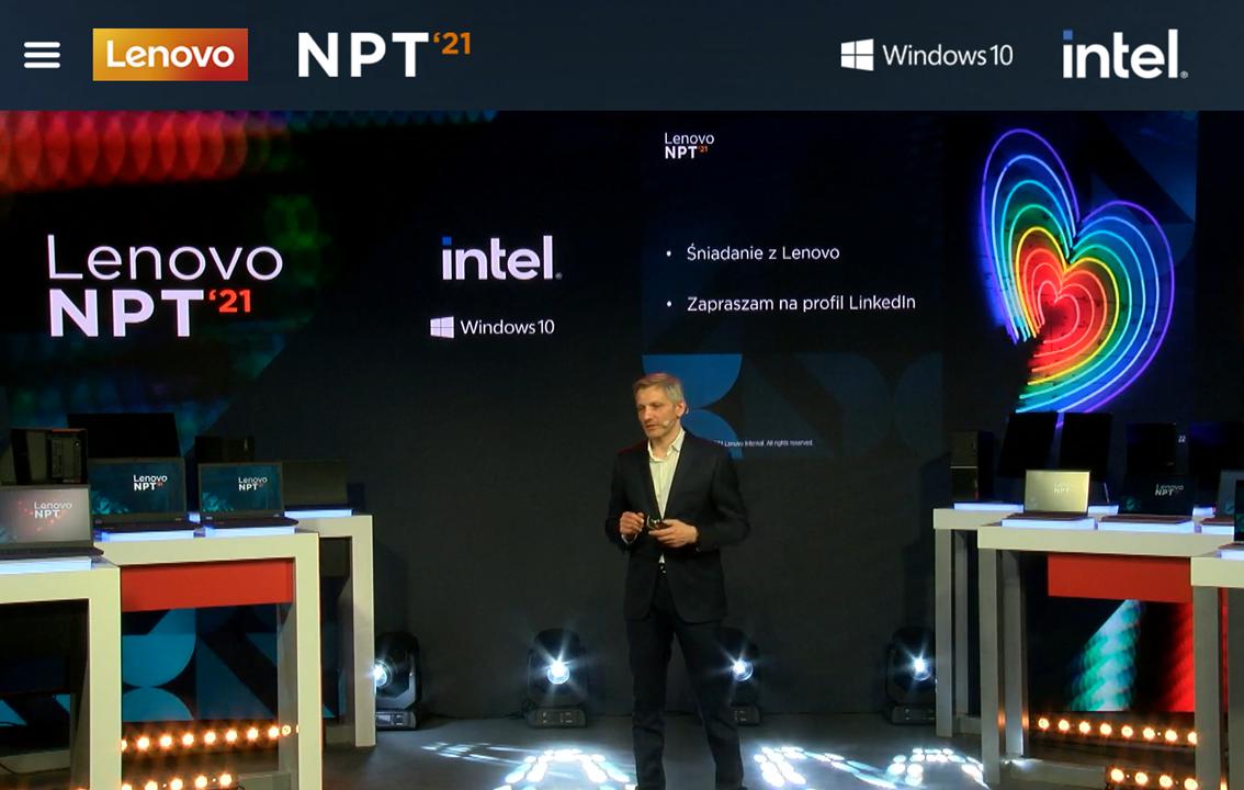 Lenovo prezentuje nowe produkty i strategię na 2021 rok