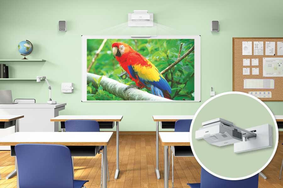 Projektory Epson: dla biznesu, szkół i domu