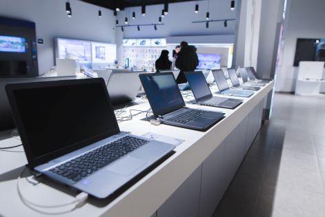 80 proc. więcej notebooków na rynku