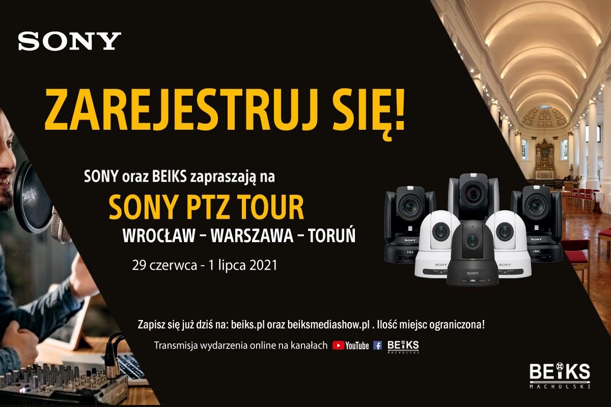 Sony PTZ Tour – Wrocław – Warszawa – Toruń