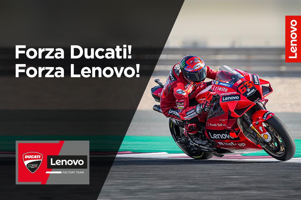 Stań do wyścigu Lenovo. Do wygrania 15 motocykli Ducati Monster!