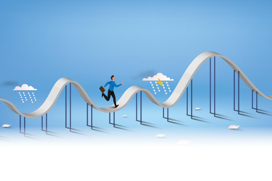 Roller coaster na polskim rynku IT