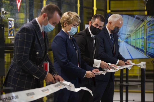 Amazon otworzył 10 centrum logistyczne w Polsce