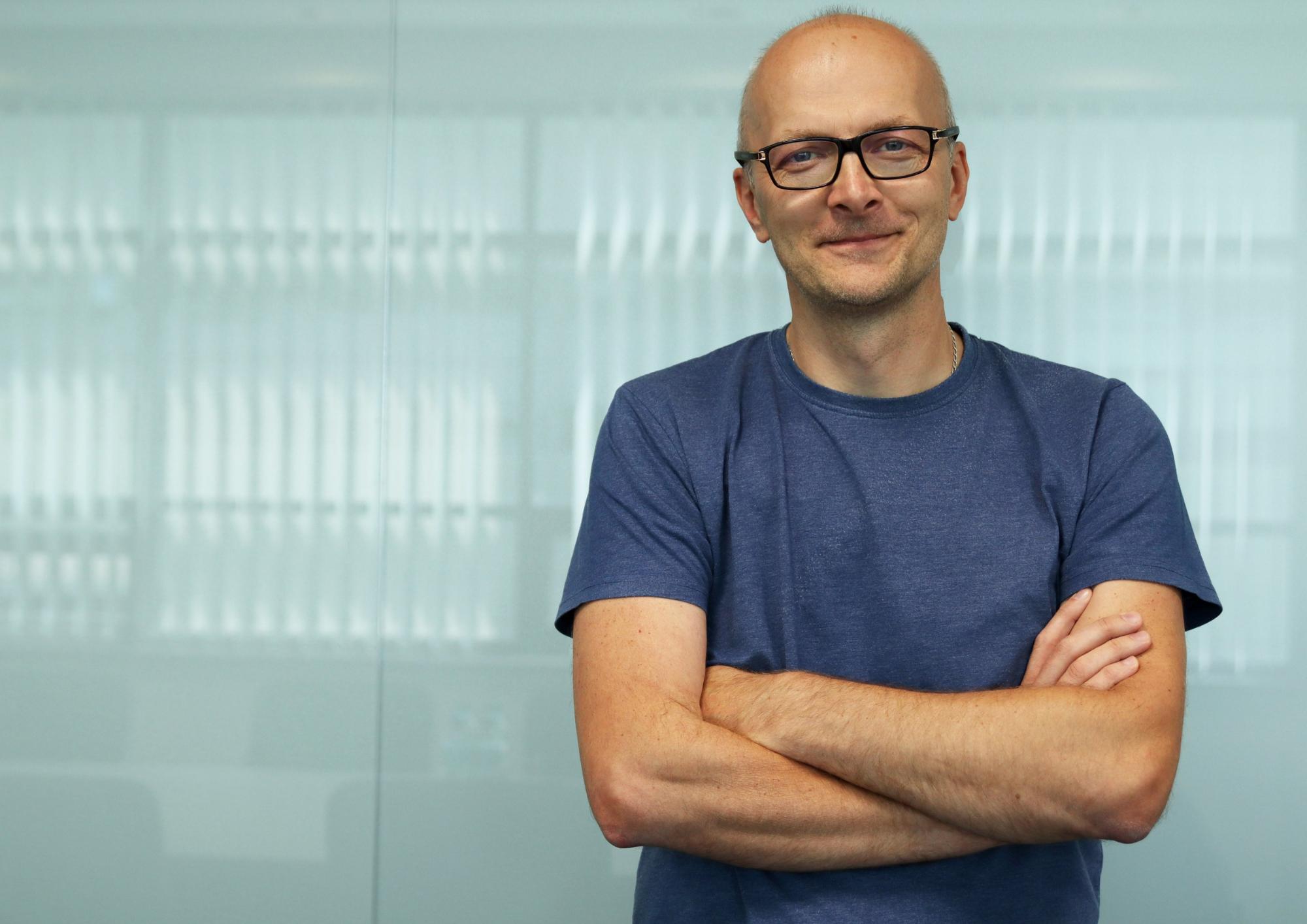 Jacek Bednarski odpowiada za sieć partnerów Sharp
