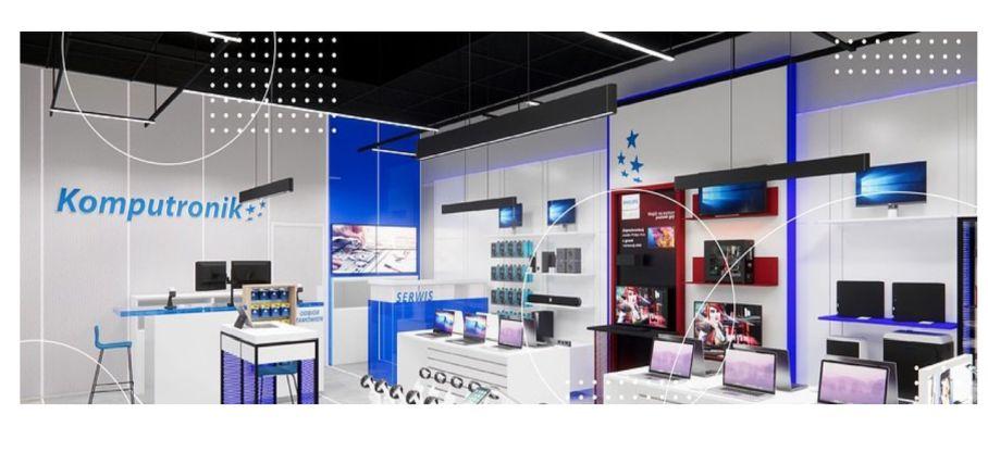 Komputronik wprowadza nowy format sklepów