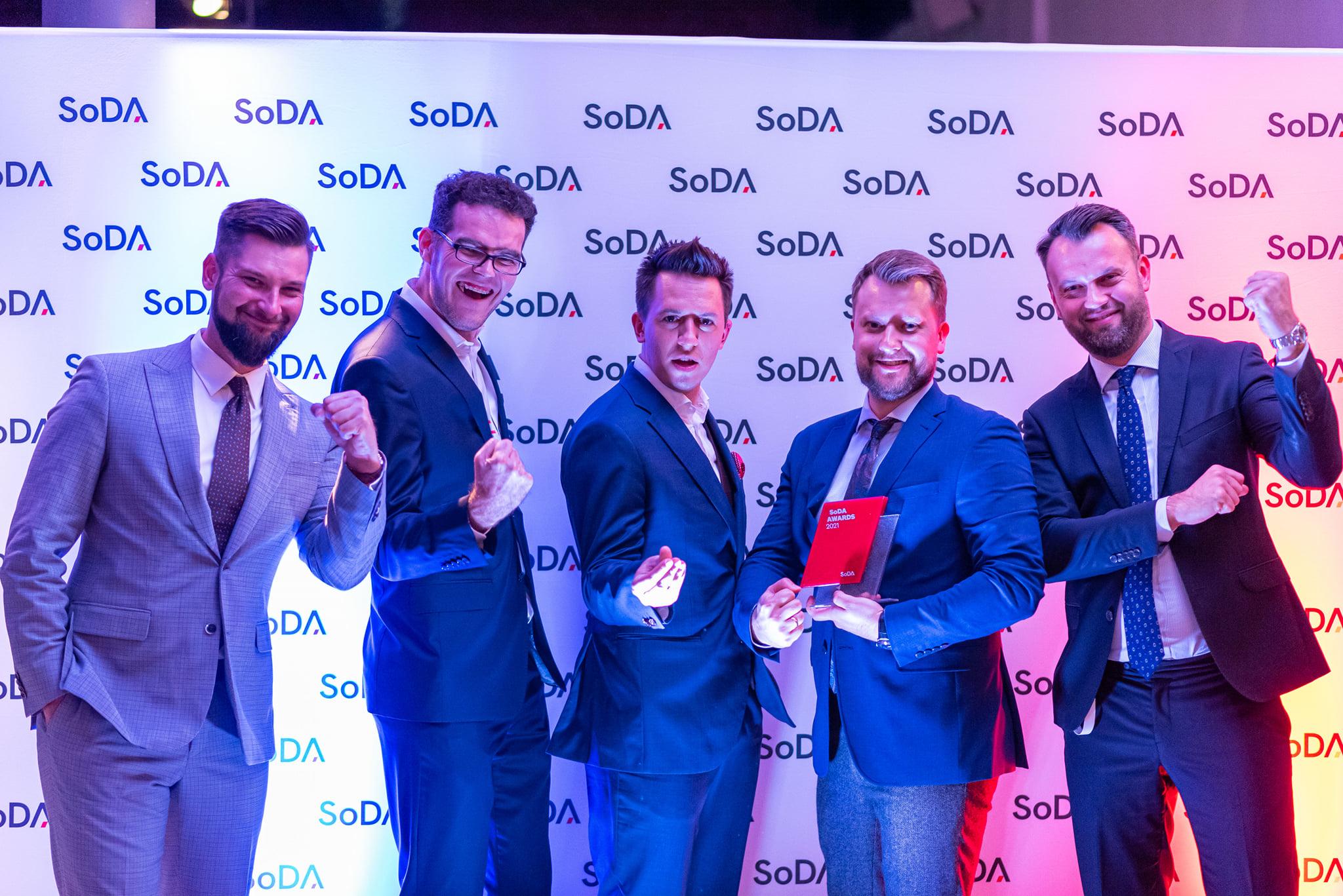 Poznajcie laureatów SoDA Awards 2021